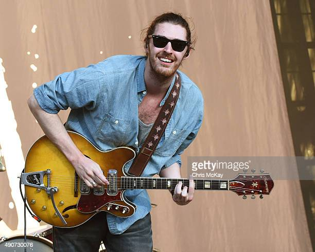 Hozier performs at Music Midtown at Piedmont Park on September 18 2015 in Atlanta Georgia