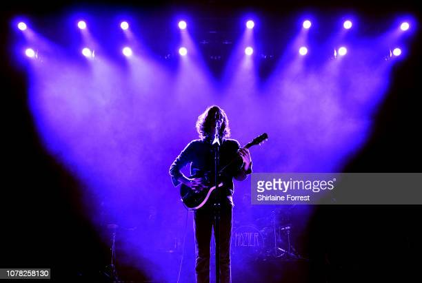 Hozier performs at O2 Apollo Manchester on December 06 2018 in Manchester England