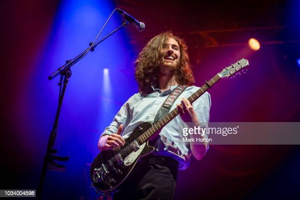 Hozier performs at the CityFolk festival at Lansdowne Park on September 15 2018 in Ottawa Canada