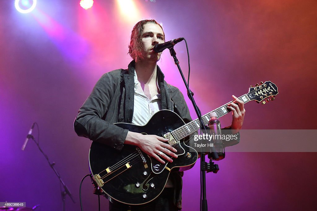 Hozier performs during the 2014 Sweetlife Music & Food Festival at Merriweather Post Pavillion on May 10, 2014 in Columbia, Maryland.