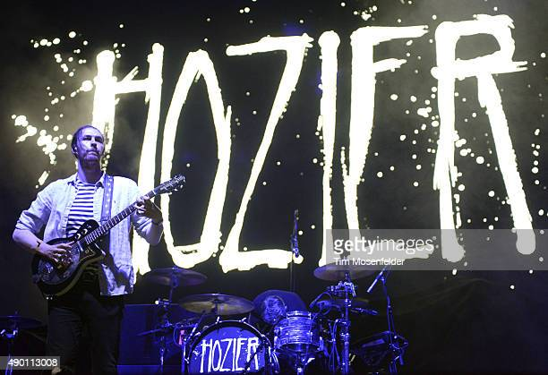Hozier performs during the 2015 Life is Beautiful festival on September 25 2015 in Las Vegas Nevada