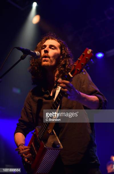 Hozier performs live on stage at KOKO on September 11 2018 in London England