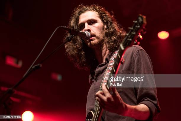 LONDON UK SEPTEMBER 11 Hozier performs live on stage at KOKO on September 11 2018 in London England