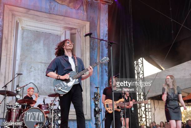 Hozier performs live on stage during Austin City Limiits Festval at Zilker Park on October 5, 2018 in Austin, Texas.