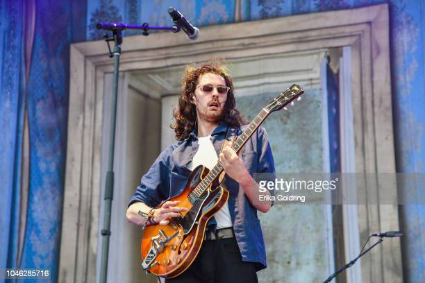 Hozier performs on Day 1 of Austin City Limits Festival at Zilker Park on October 5 2018 in Austin Texas