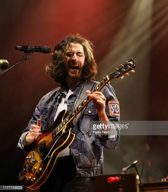 Hozier performs on stage at O2 Guildhall on September 28, 2019 in Southampton, England.