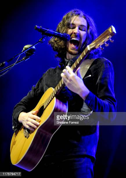 Hozier performs on stage at the O2 Apollo Manchester on September 19 2019 in Manchester England