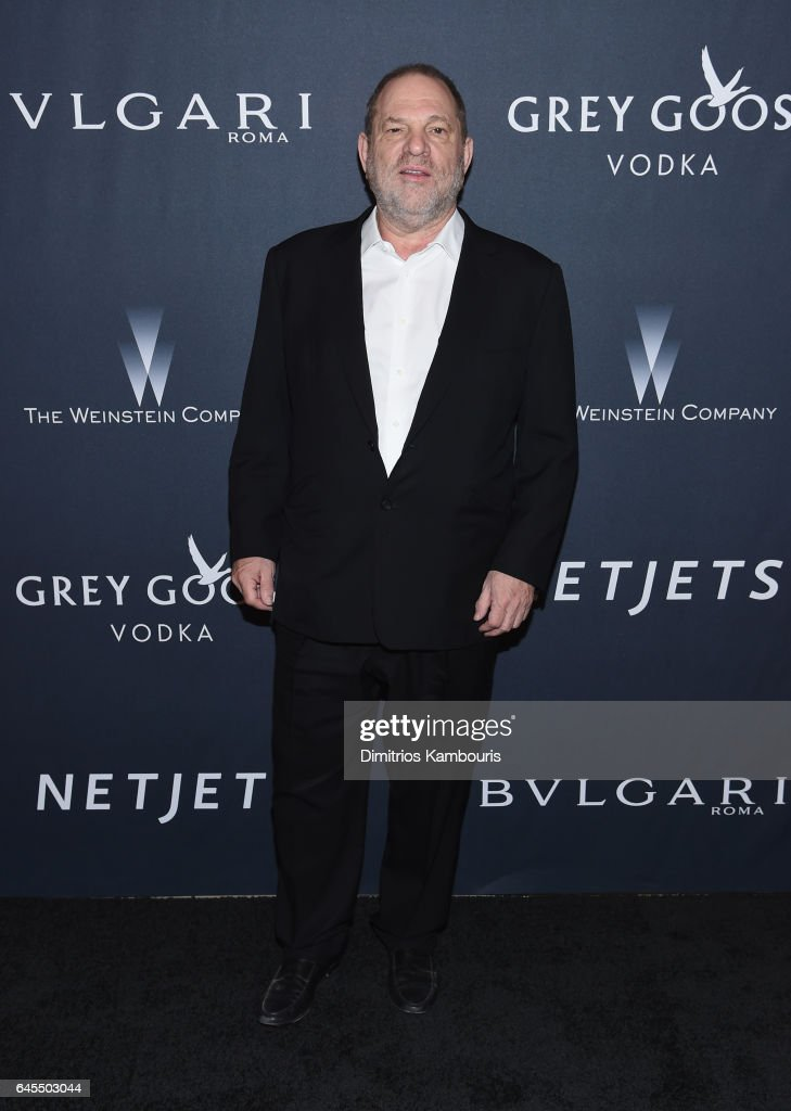 HProducer Harvey Weinstein attends The Weinstein Company's Pre-Oscar Dinner in partnership with Bvlgari and Grey Goose at Montage Beverly Hills on February 25, 2017 in Beverly Hills, California.