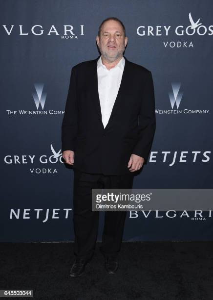 HProducer Harvey Weinstein attends The Weinstein Company's PreOscar Dinner in partnership with Bvlgari and Grey Goose at Montage Beverly Hills on...