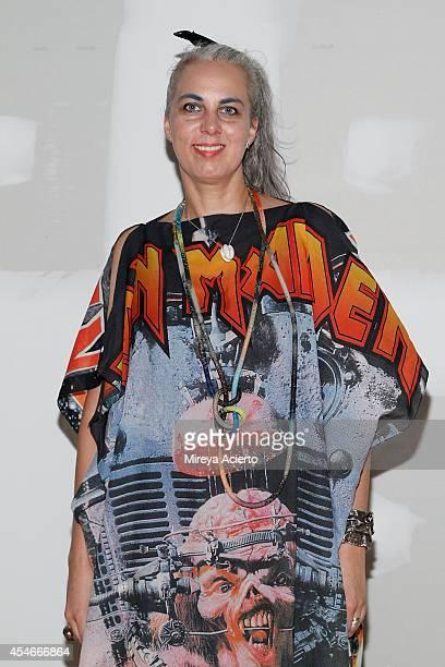 Hrafnhildur 'Shoplifter' Arnardottir attends VPL presentation during MercedesBenz Fashion Week Spring 2015 on September 4 2014 in New York City