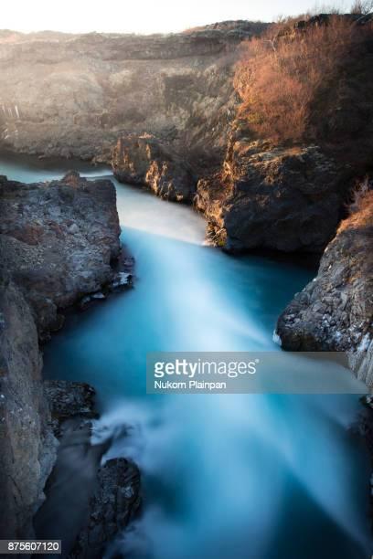 Hraunfossar waterfall - Iceland