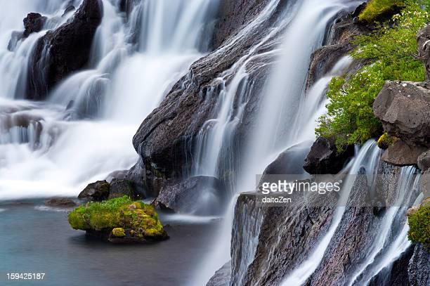 Hraunfossar Waterfalls, Iceland