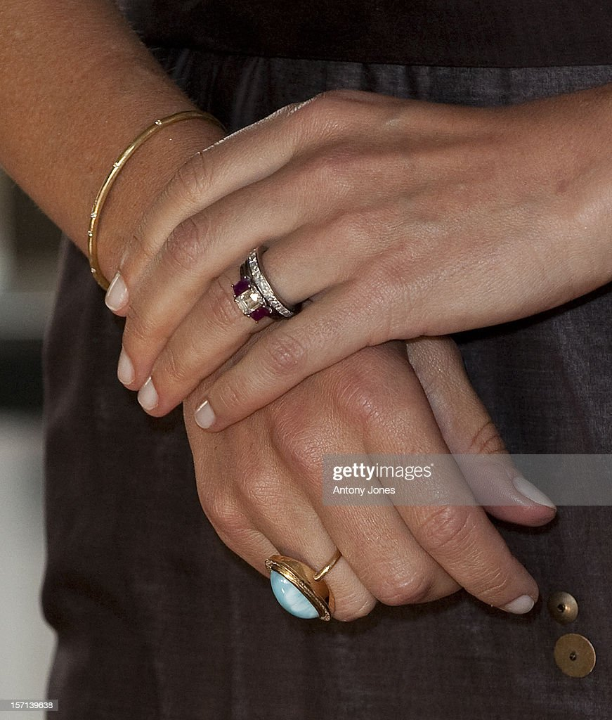 Hrh Crown Princess Mary Of Denmark Sighting - London : News Photo