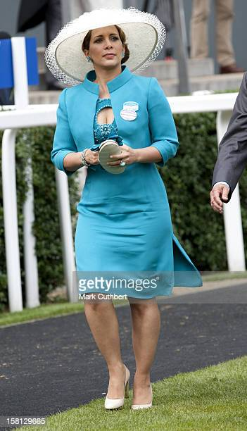 Hrh Princess Haya Bint Al Hussein At Royal Ascot On Ladies Day Of The 2009 Meeting