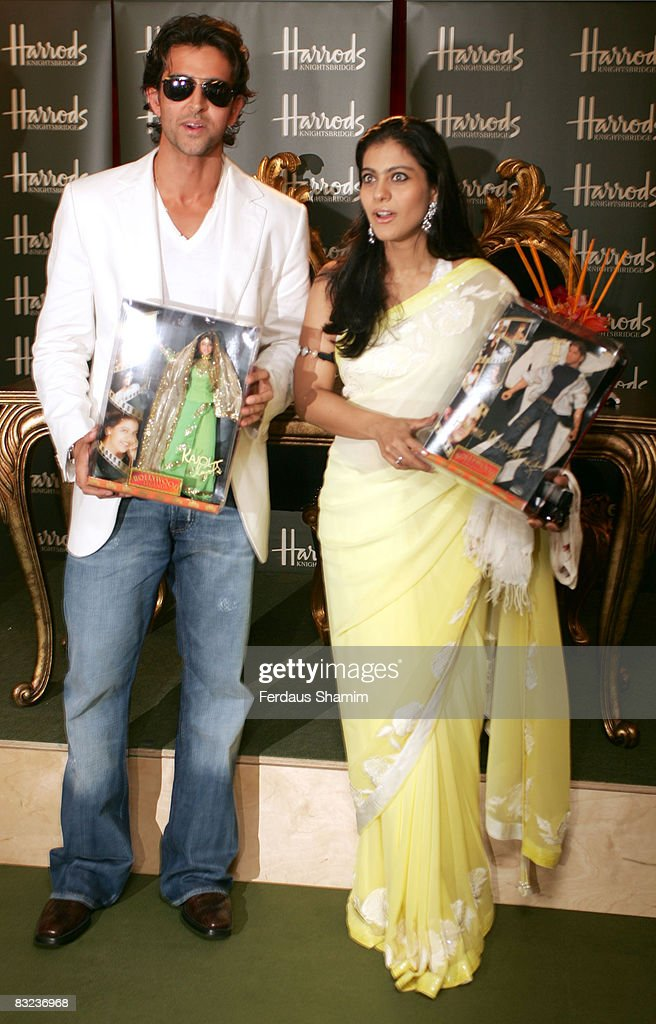 Hrithik Roshan and Kajol