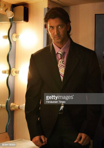 Hrithik Roshan at Film City for the Great Indian Laughter Challenge