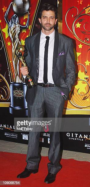 Hrithik Roshan attends the Balaji Television 'Global Indian Film and Television Honors Awards 2011' ceremony in Mumbai