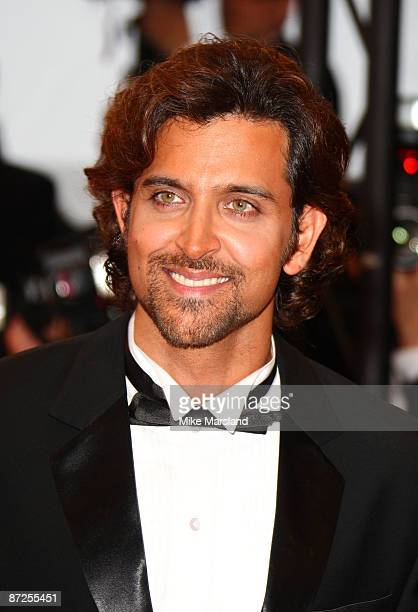 Hrithik Roshan attends the 'Bright Star' premiere at the Grand Theatre Lumiere during the 62nd Annual Cannes Film Festival on May 15 2009 in Cannes...