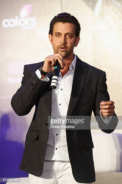 Hrithik Roshan attends the IIFA 2015 press conference held at Grand Hyatt on May 28 2015 in Mumbai India