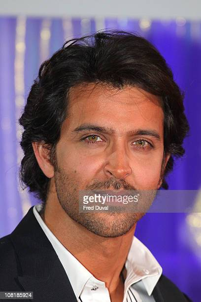 Hrithik Roshan unveils his wax figure at Madame Tussauds on January 20 2011 in London England