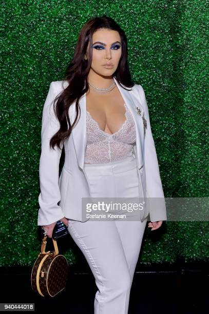 Hrush Achemyan attends KKWxMario Dinner at JeanGeorges Beverly Hills on March 31 2018 in Beverly Hills California