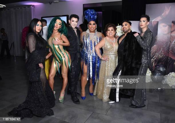 Hrush Achemyan Nikita Dragun Manny Gutierrez Patrick Starrr Mama Starrr Angel Merino and James Charles attend Patrick Starrr birthday party on...