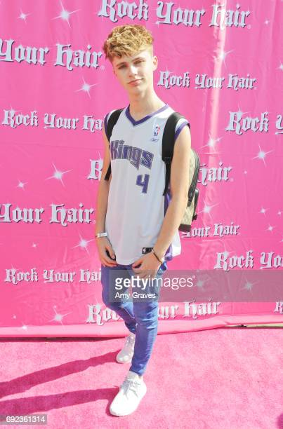 Hrvy attends Rock Your Hair presents Rock Your Summer party and concert on June 3 2017 in Los Angeles California