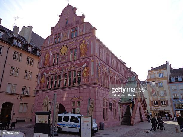 hôtel de ville mulhouse, france - ミュールーズ ストックフォトと画像