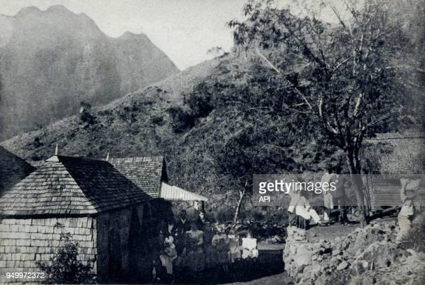 Hôtel du PeterBoot sur la route de Cilaos à La Réunion France