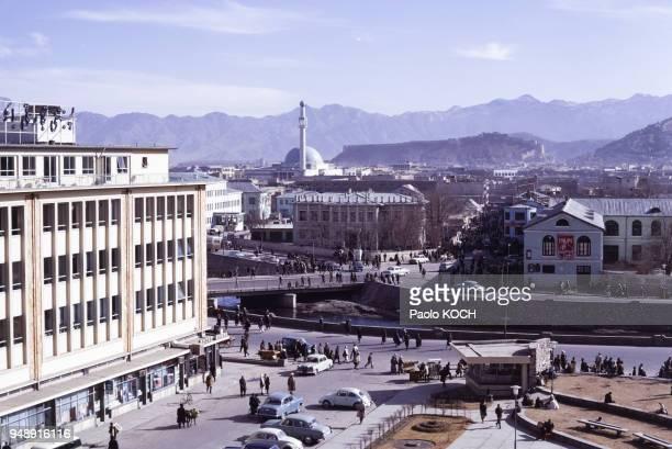 Hôtel ?Spinghar? à Kaboul, circa 1970, Afghanistan.