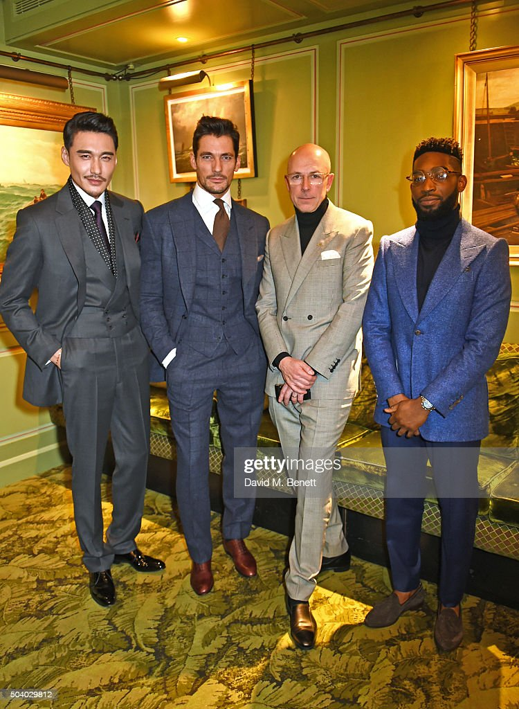 Celebrating 'The Ambassador's Project' for London Collections: Men