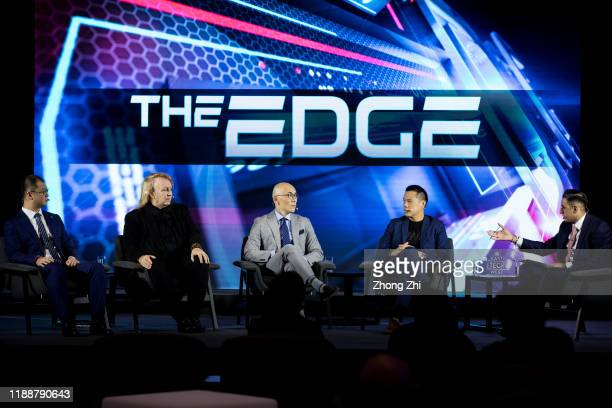 Hua Fung Teh Group President of ONE Championship Jay Li Vice President and General Manager of Greater China of WWE Rick Garson CEO and founder of VX...