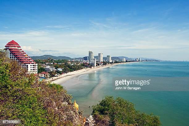 Hua Hin Beach, from Chopsticks Hill (Khao Takiab)
