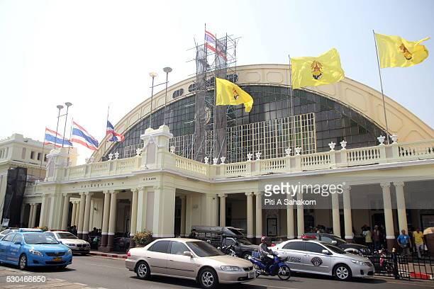 Hua Lamphong train station in Bangkok A small explosion at Bangkok's Hua Lamphong train station injured two people Explosive ordnance disposal...