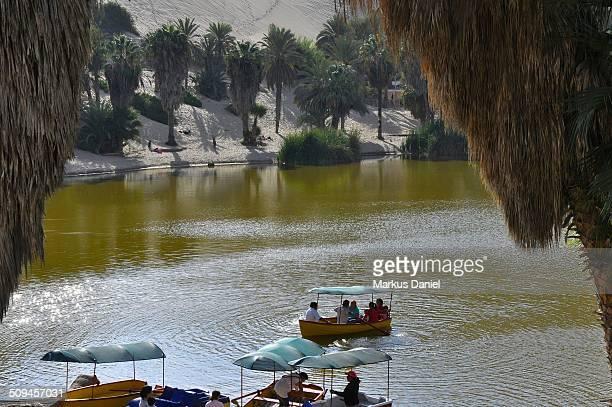 Huacachina Oasis Lake