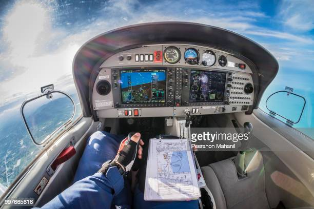 da40 huahin thailand - cockpit stock pictures, royalty-free photos & images