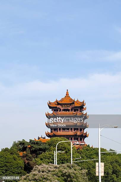 huang he lou,wuhan,hubei,china - wuhan city stock photos and pictures