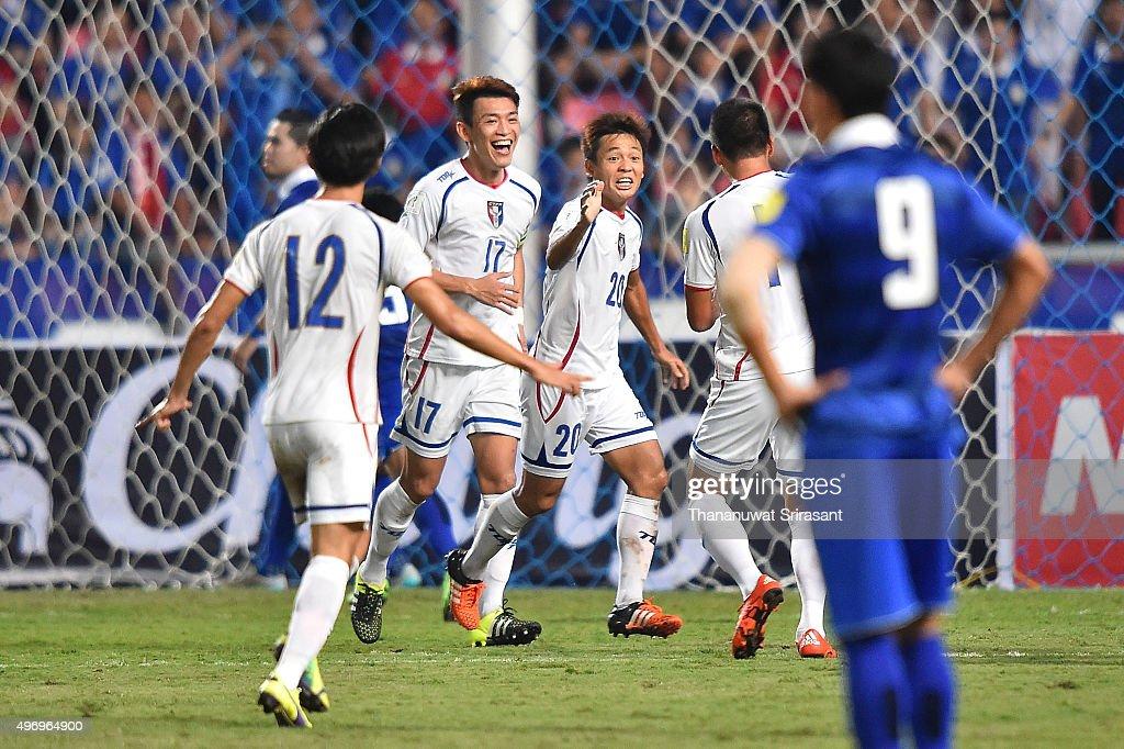 2018 FIFA World Cup Qualifier - Thailand v Chinese Taipei : News Photo