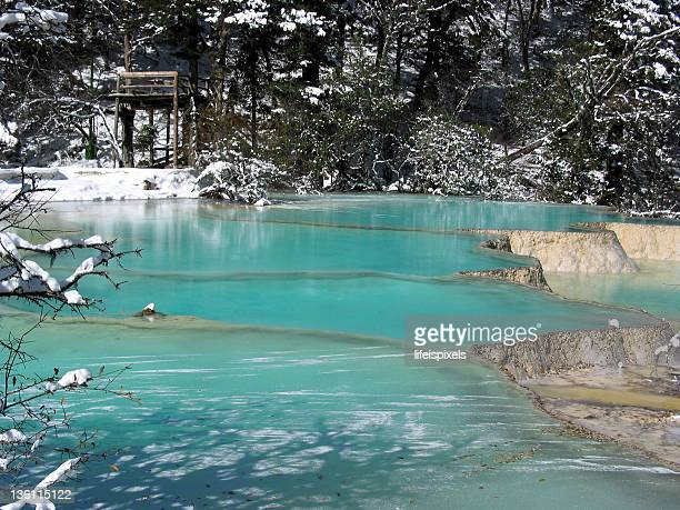 huang long, sichuan, china - lifeispixels stock pictures, royalty-free photos & images