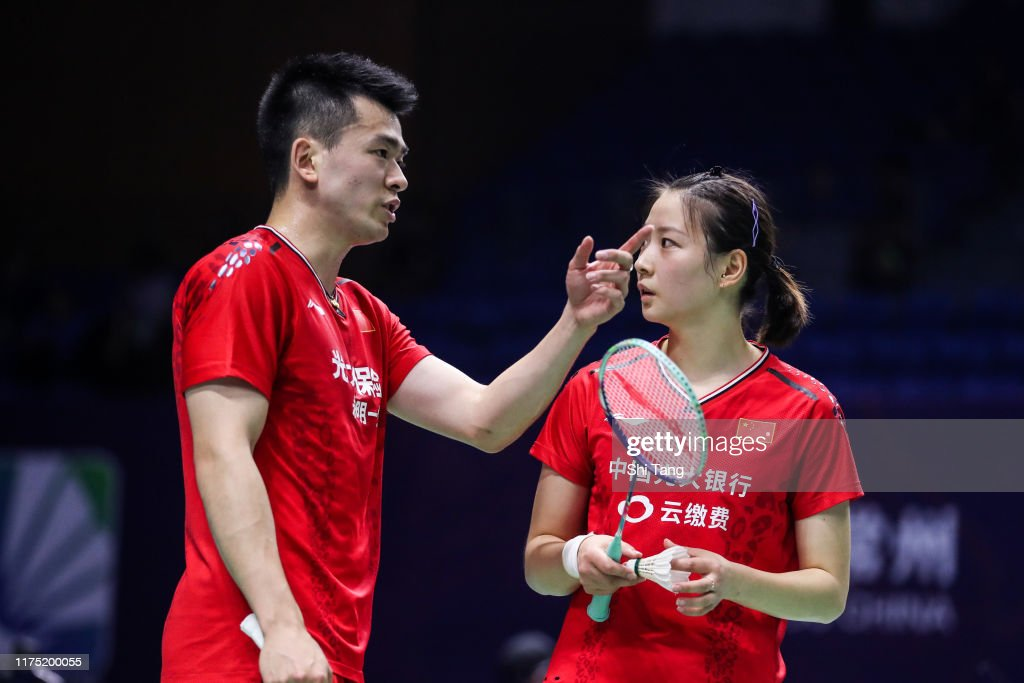 2019 China Badminton Open - Day 1 : News Photo