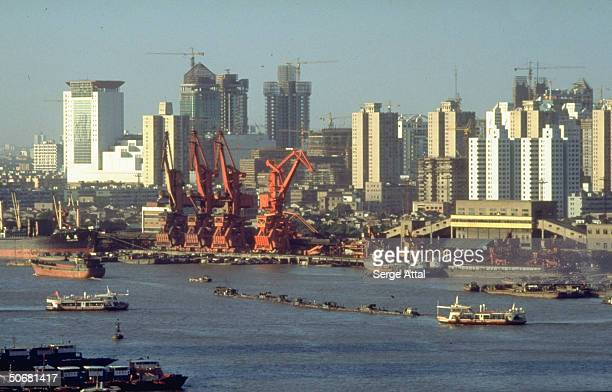 Huangpu River Pudong Special Economic Zone