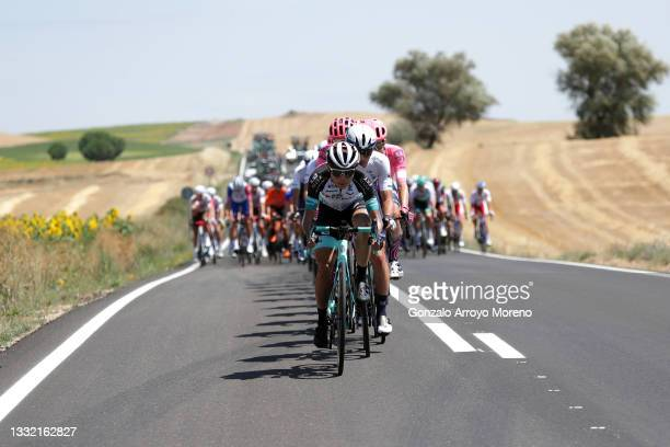 Huat Goh Choon of Singapore and Team BikeExchange leads The Peloton during the 43rd Vuelta a Burgos 2021, Stage 1 a 161km stage from Burgos-Catedral...