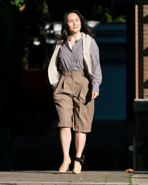 CAN: Huawei CFO Meng Wanzhou Returns To Court In Continued Fight Against Extradition