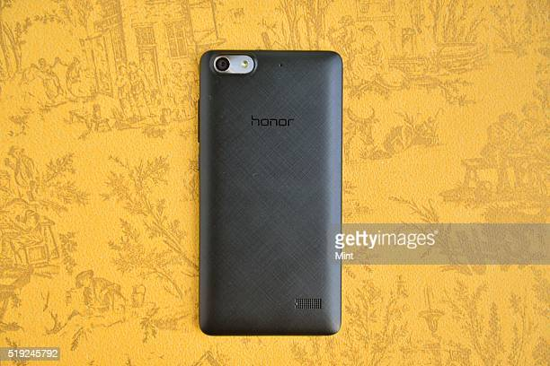Huawei Honor 4C smartphone on June 9 2015 in New Delhi India