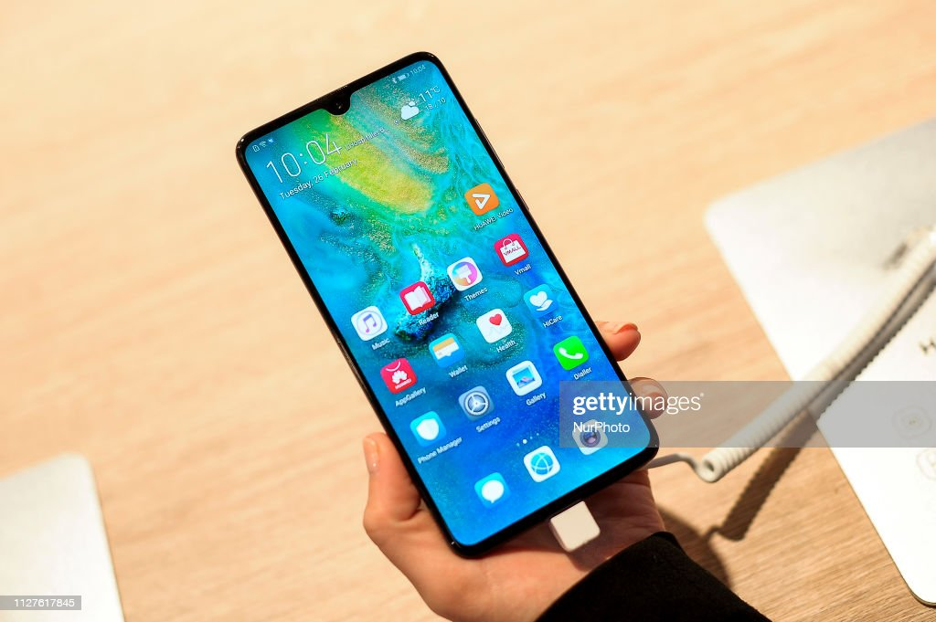 Mobile World Congress 2019 Huawei Devices : News Photo