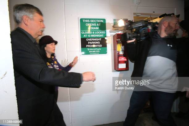 Huawei Technologies Co Chief Financial Officer Meng Wanzhou arrives at the British Columbia Superior Courts on March 6 2019 in Vancouver Canada Meng...