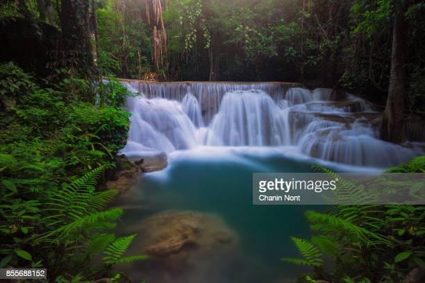 Huaymaekamin waterfall, Thailand