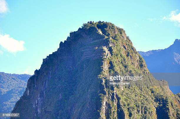 "huayna picchu mountain at machu picchu - ""markus daniel"" stock pictures, royalty-free photos & images"