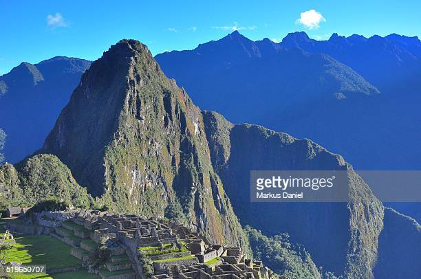 "huayna picchu mountain - ""markus daniel"" stock pictures, royalty-free photos & images"