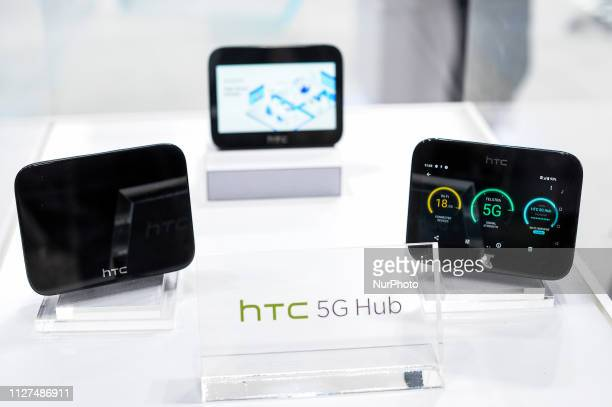 Hub exihbited during the Mobile World Congress on February 25 2019 in Barcelona Spain